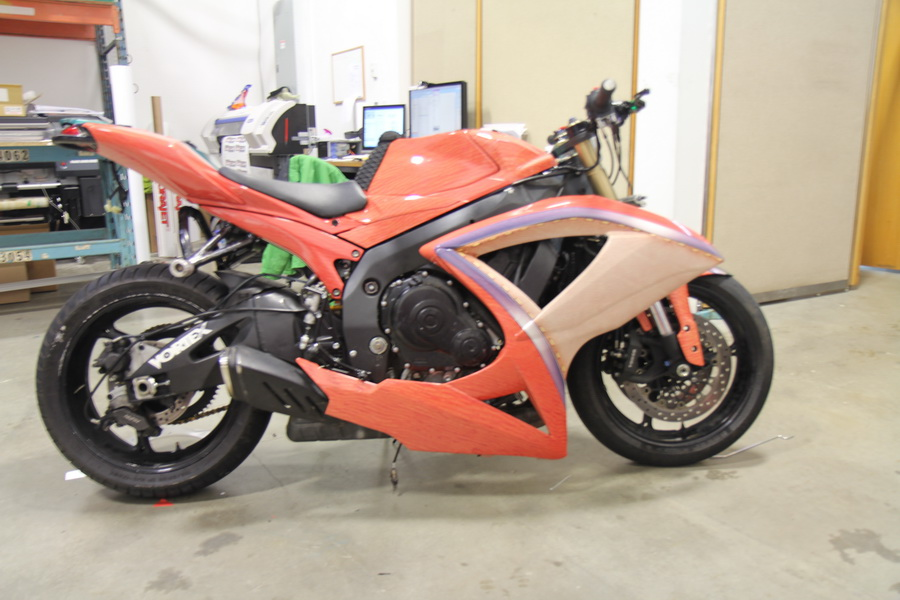 Motorcycle wraps Vancouver